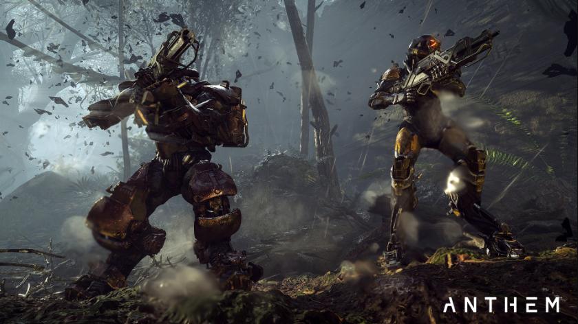 EAотправит новый проект BioWare Anthem вранний доступ