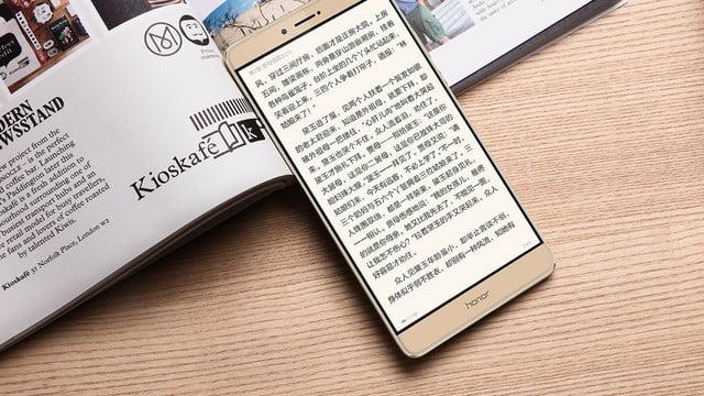 Смартфон Honor Note вполне может стать обладателем наибольшего монитора всерии