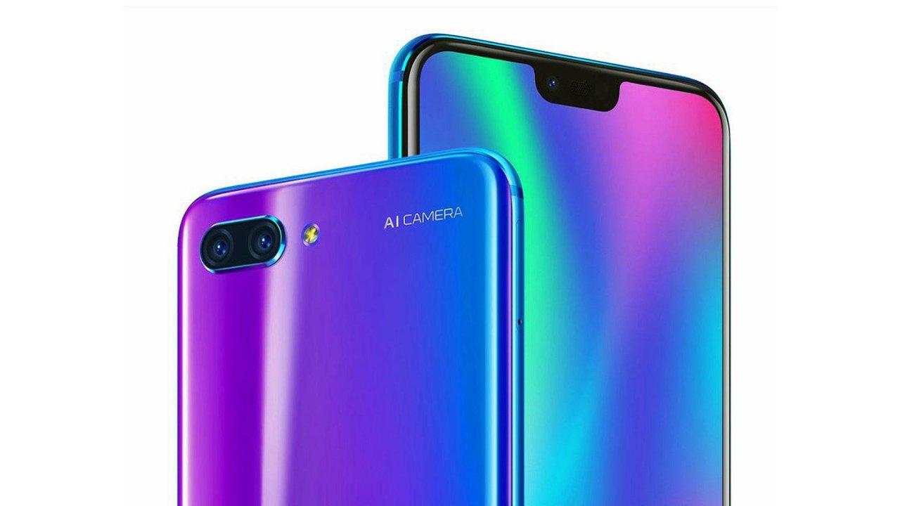 TENAA раскрыла технические данные телефона Huawei Honor 10 Lite