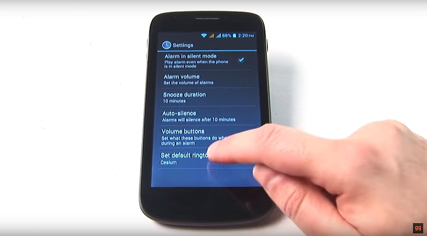 How to Set Ringtone for Alarm on the Android Smartphone