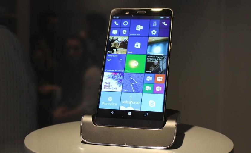 HP показала обновленный Elite x3 на Windows 10 Mobile