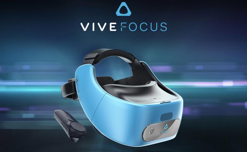 HTC представила автономный VR-шлем Vive Focus
