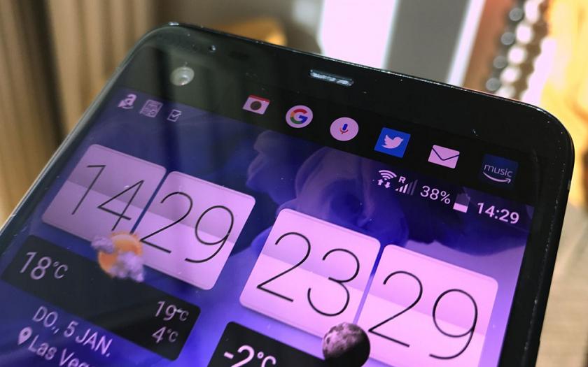 Смартфон HTC UUltra совторым экраном показался наживых фото