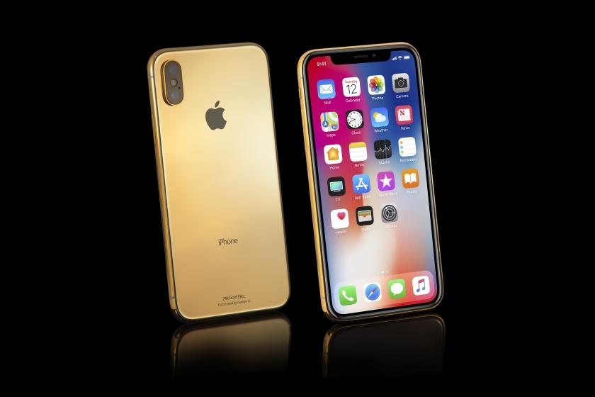 В базе данных FCC был замечен iPhone X золотого цвета
