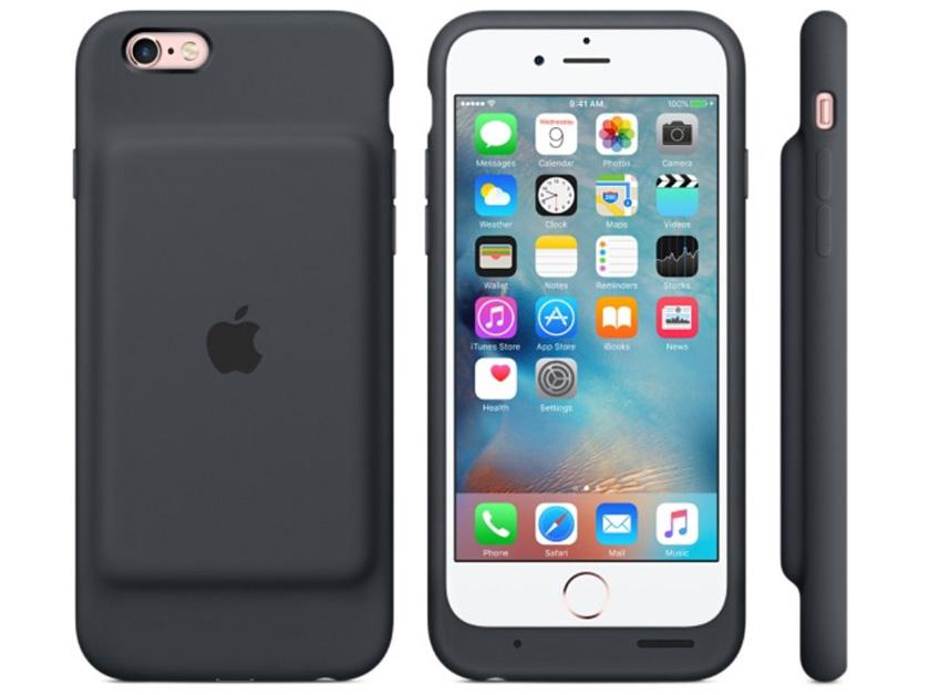 Новый чехол Apple позволит продлить время автономной работы iPhone 6/6s до 25 часов