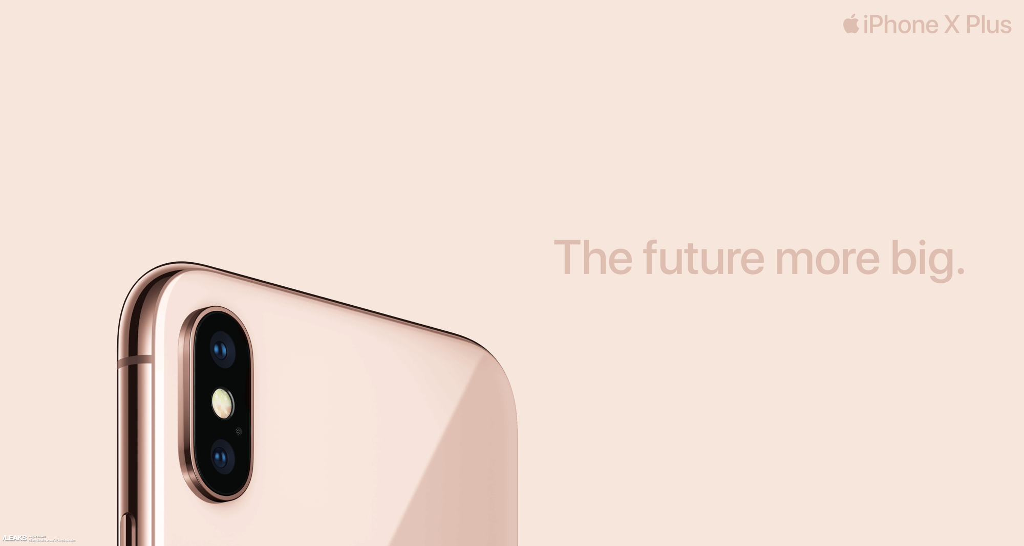 Advertising posters of the 6.5-inch iPhone X Plus appeared ...