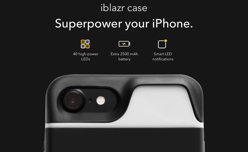 Украинский стартап Concepter вывел наKickstarter новый продукт— чехол-вспышку для iPhone