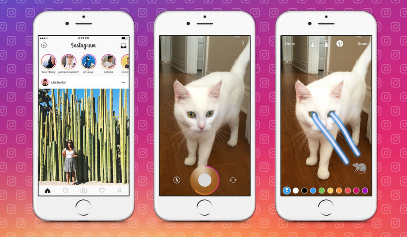 Социальная сеть Instagram  будет уведомлять пользователей, ежели  кто-то сделает снимок экрана  их«Историй»