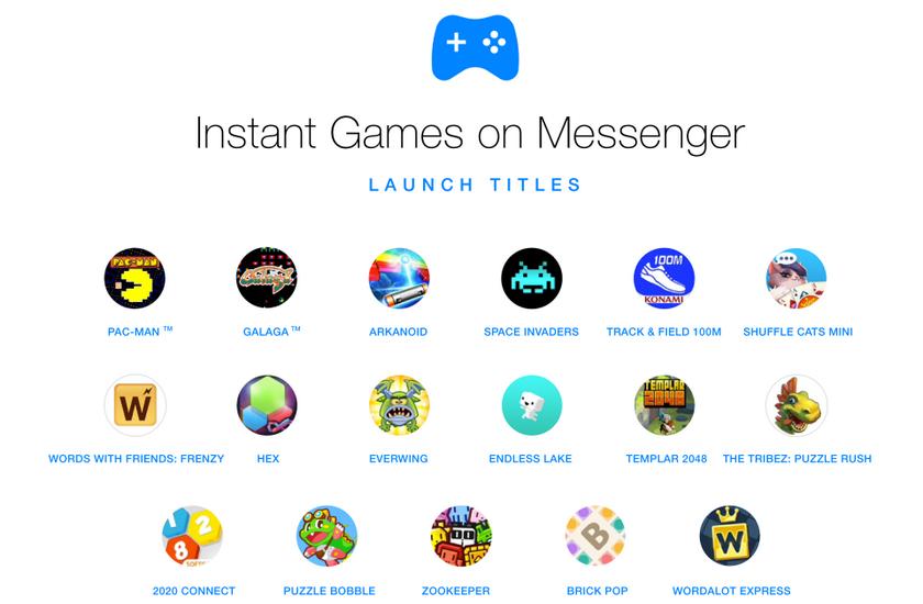 Фейсбук включила игры вновостной ленте иMessenger