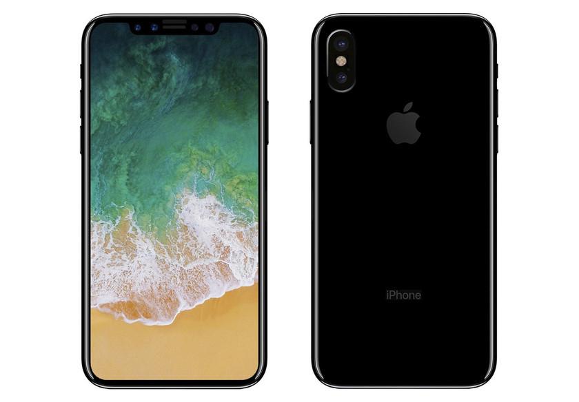 Безрамочный iPhone 8 с 3D-сканированием лиц подтвержден благодаря Apple HomePod