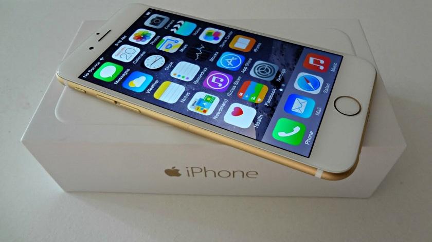 Apple возвратила  iPhone 6 в реализацию