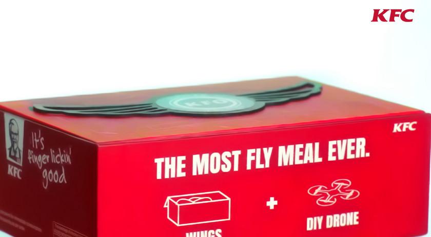 KFC запустил свой собственный дрон— Крылья смогут полететь