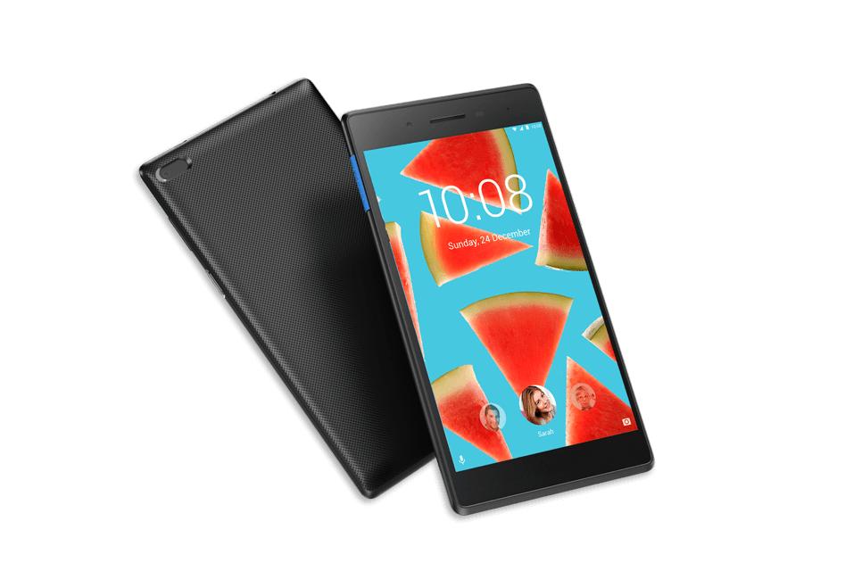 Lenovo представила два бюджетных планшета