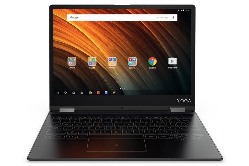 Lenovo показала недорогую версию Yoga Book с андроид