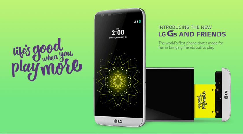 ВLG Electronics Inc поняли, что модульный смартфон G5 никому ненужен
