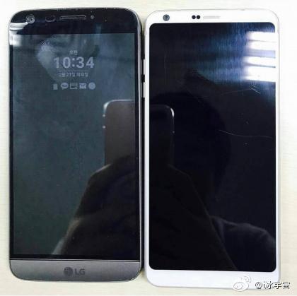 СмартфонLG G6 сравнили спрошлогодним флагманом