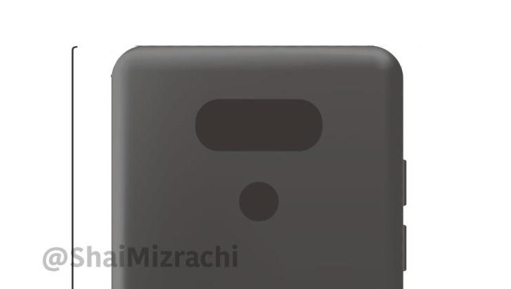 Рендер LG G6: знакомый дизайн и никаких модулей