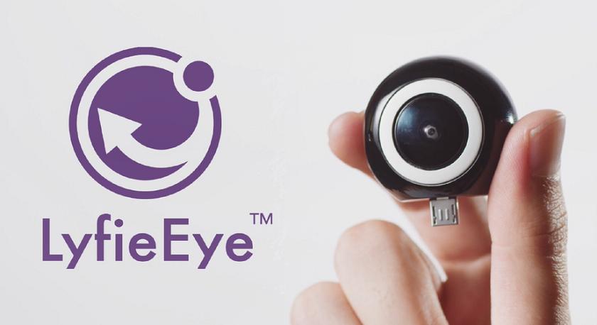 LyfieEye: мини VR-камера для Android-смартфона