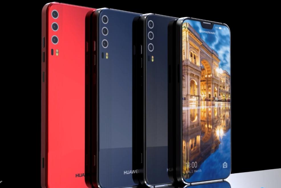 Huawei P20: появились изображения флагмана с тройной камерой