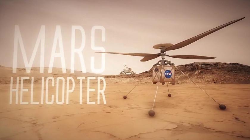 В 2020 году NASA отправит на Марс первый дрон-вертолёт