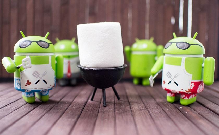 Андроид 6.0 Marshmallow вышла на 3-е место врейтинге Google