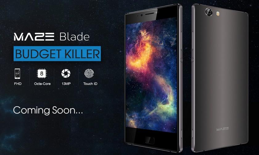 Компания Maze анонсировала выпуск «убийцы бюджетных смартфонов»