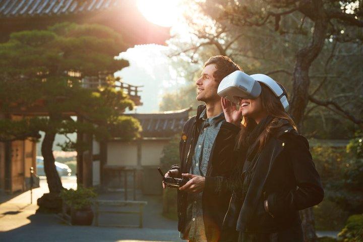 DJI объявила оскором начале продаж FPV-шлема DJI Goggles