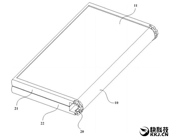 Meizu запатентовала гаджет со складным дисплеем