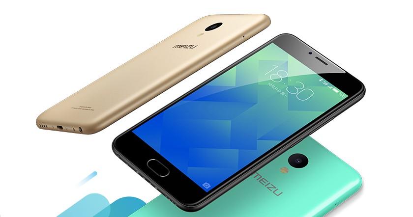 Meizu представила доступный смартфон M5 за $105