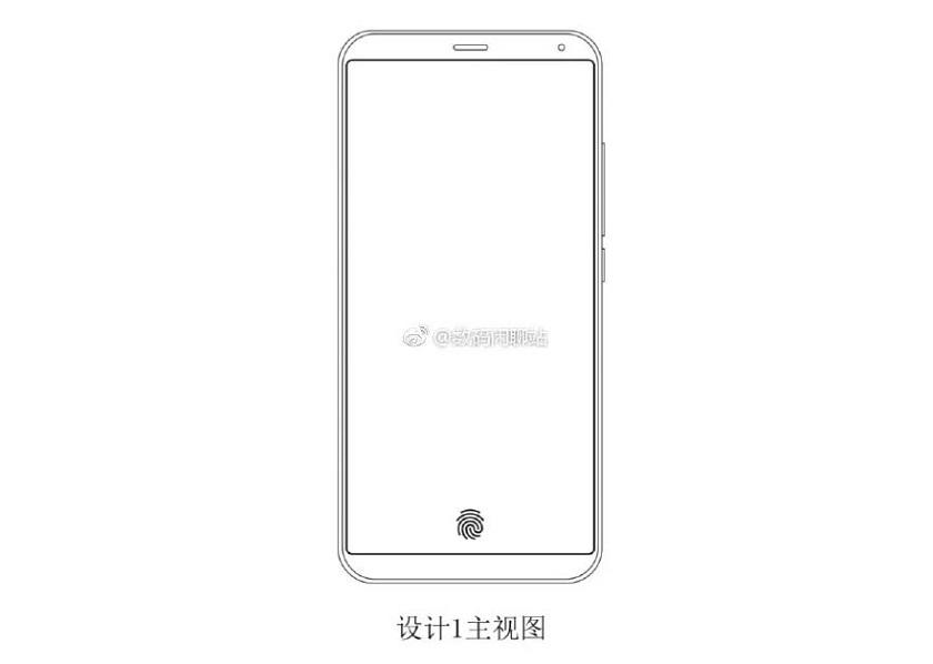 Meizu запатентован «стеклянный» подэкранный дактилоскопический сканер