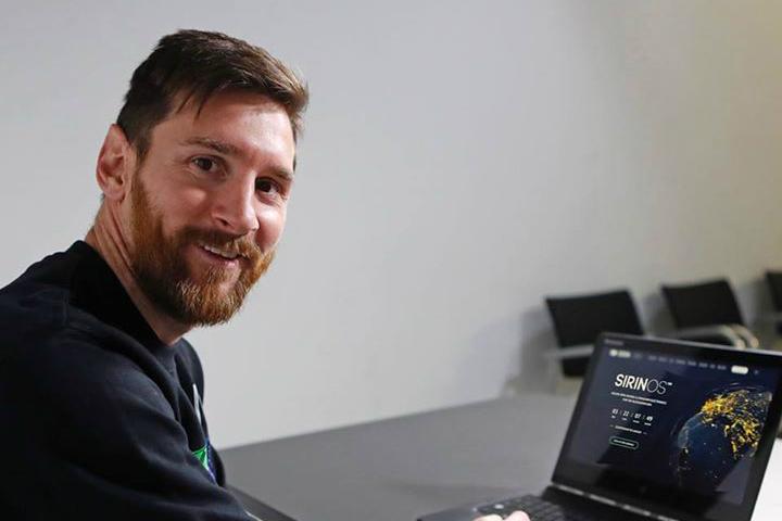 Лионель Месси стал амбассадором первого в мире производителя криптосмартфонов