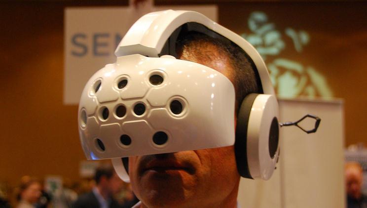 Виртуальный шлем для игр