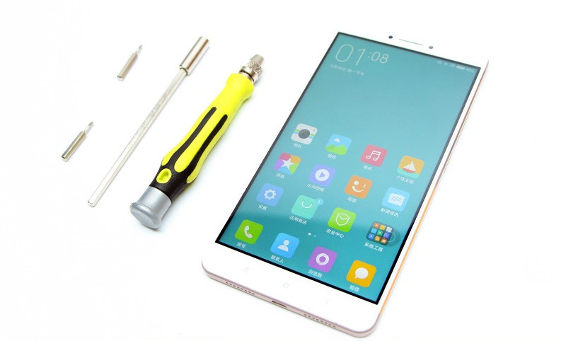 Китайцы разобрали 6.44-дюймовый Xiaomi Mi Max до винтика