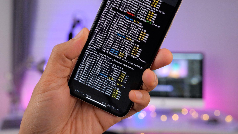 Как майнить криптовалюту наiPhone