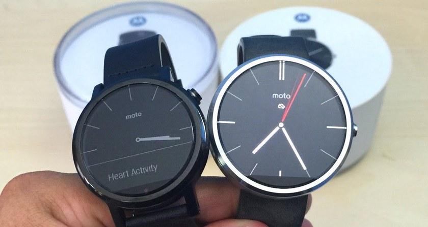 Motorola пока не будет выпускать новые смарт-часы