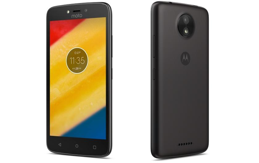Компания Motorola представила бюджетные мобильные телефоны Moto CиMoto CPlus