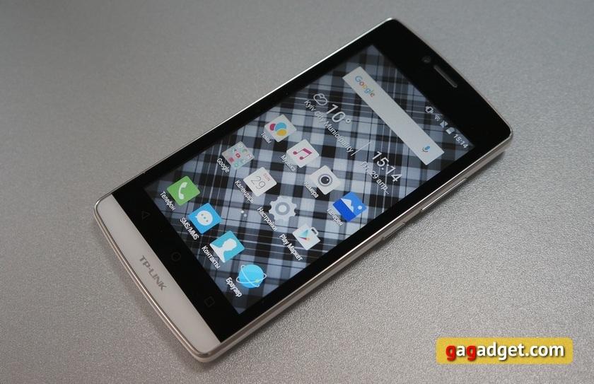 Обзор смартфона TP-LINK Neffos C5L: младшее облако
