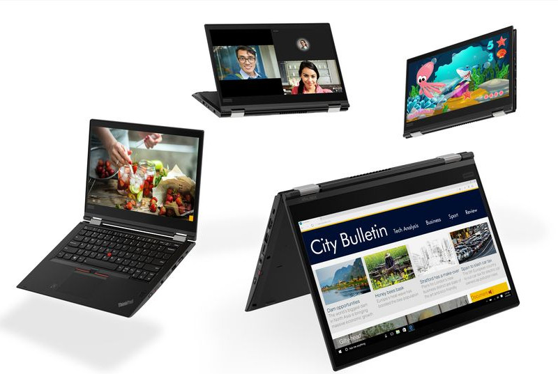 Lenovo представила ноутбуки ThinkPad X280 иX380 Yoga