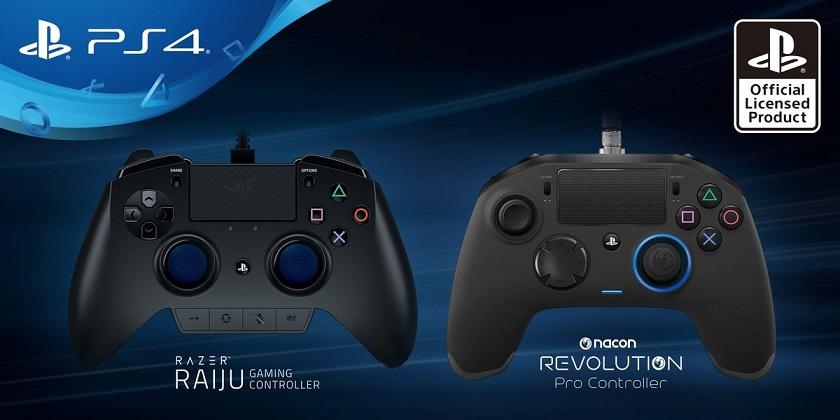 Pro-контроллеры для PS 4 схожи нагеймпады отXbox One