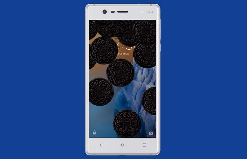 Смартфон Nokia 3 начал обновляться до Android 8.0 Oreo