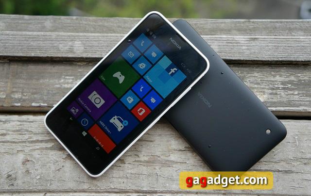 Nokia Lumia 630 (черный) характеристики, техническое ...