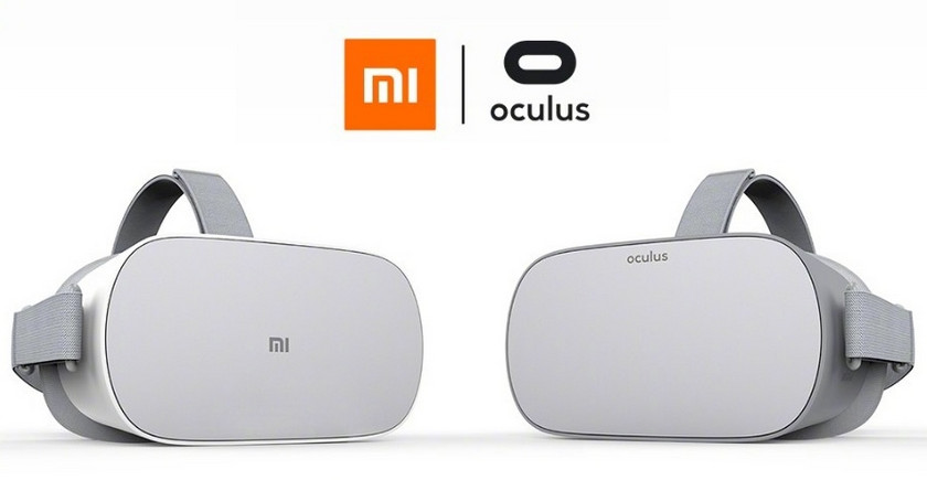 Manufacturer VR-helmet Oculus Go with Snapdragon 821 was Xiaomi