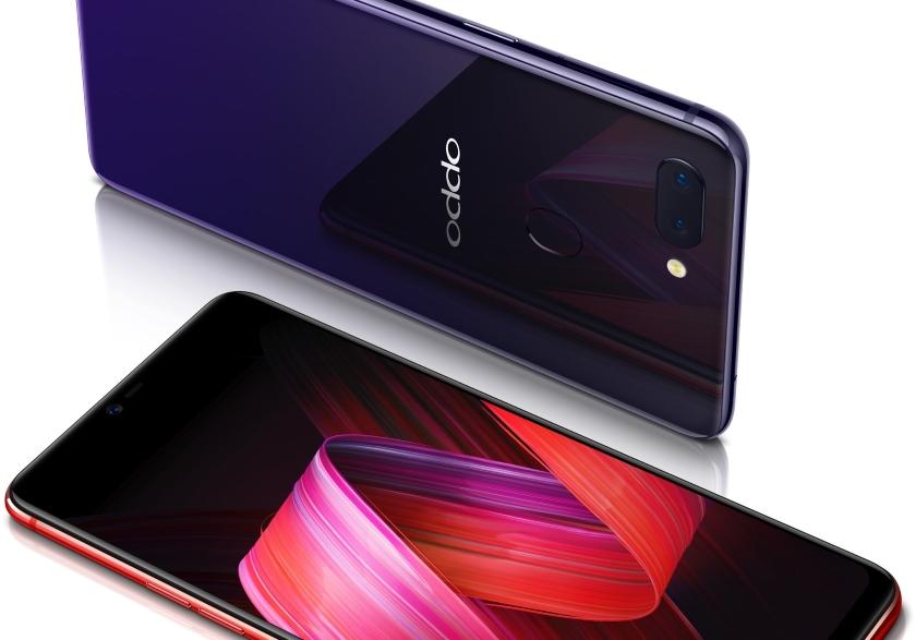 Смартфон Oppo R15S оборудовали аккумулятором емкостью 4100 мАч