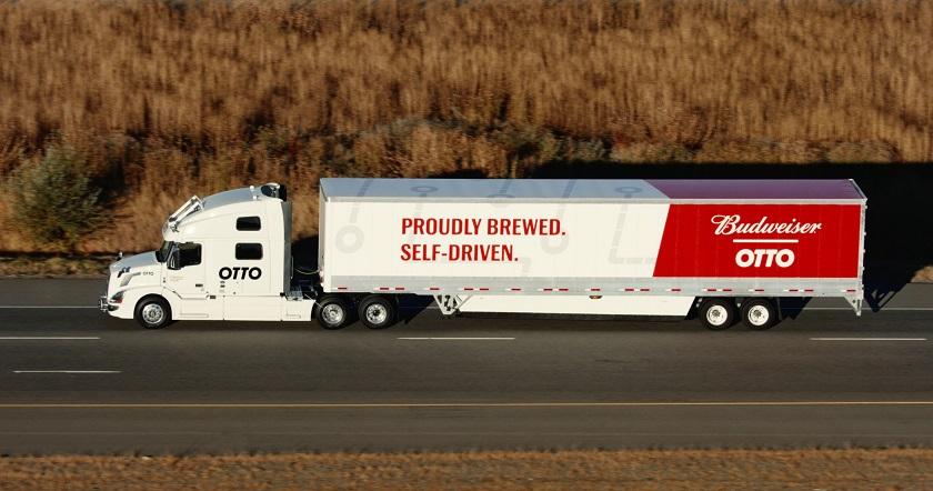 Состоялась первая коммерческая доставка груза на беспилотном грузовике