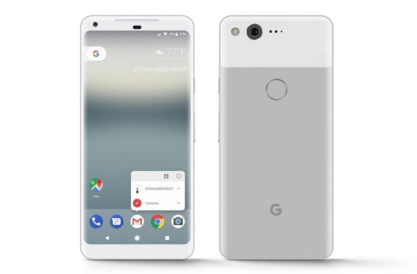Вглобальной паутине появились технические данные Google Pixel 2 иPixel 2 XL