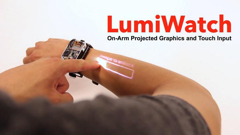«Умные» часы LumiWatch делают изруки сенсорный дисплей
