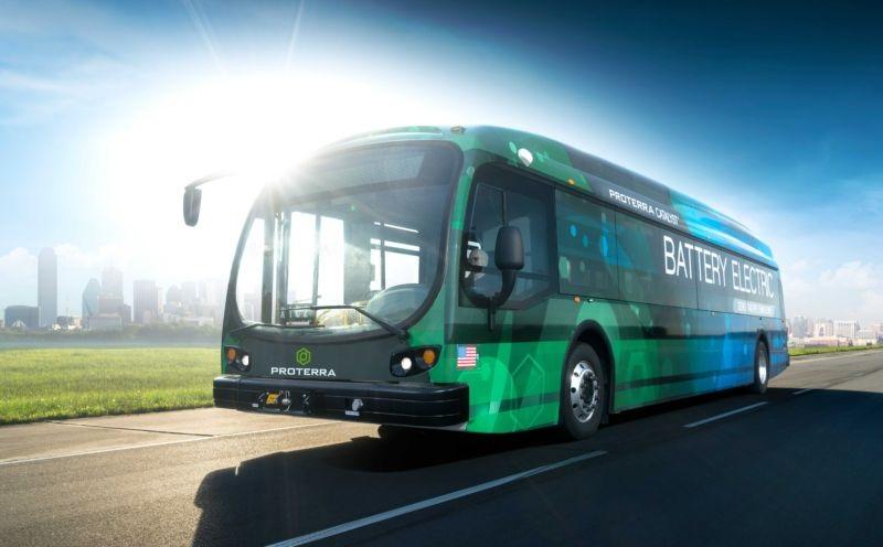 Электрический автобус Proterra проехал без подзарядки 1772км