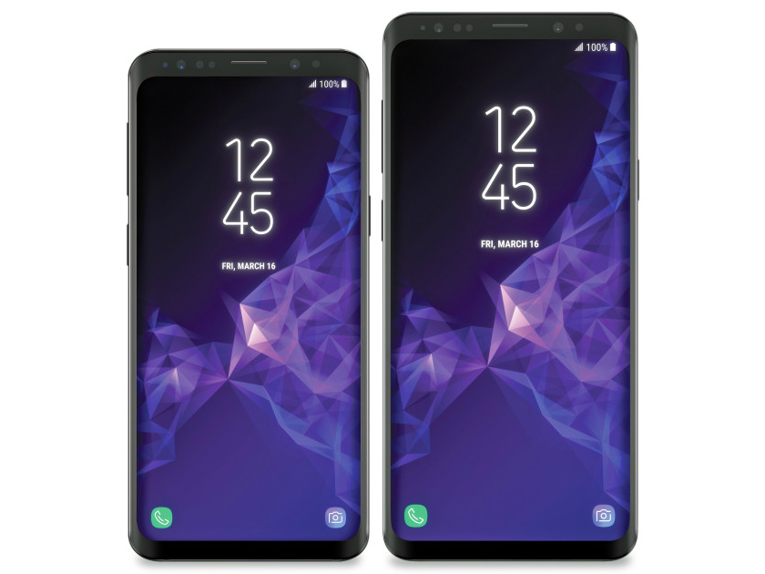 The new Samsung Galaxy S9 renderers have flown into the network. They say that this is the final design