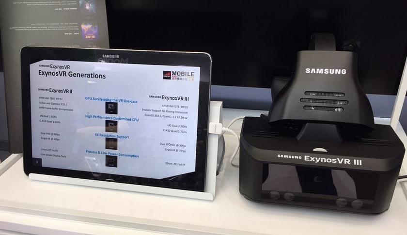 Новый VR-шлем Самсунг работает без телефона иследит зазрачками