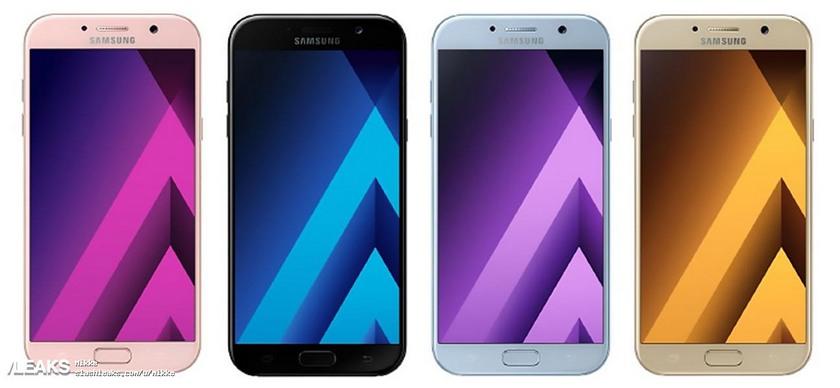 Samsung тизерит влагостойкие смартфоны Galaxy A (2017)